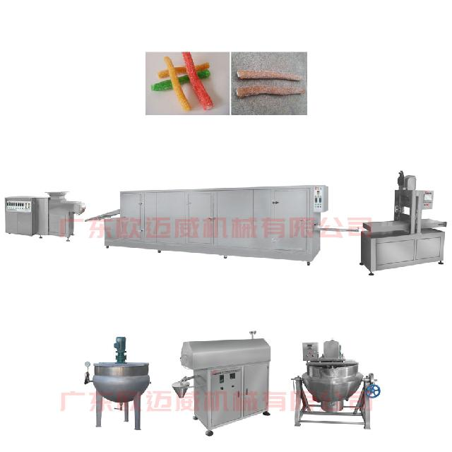 Soft candy production line